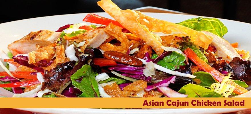 Asian Cajun Salad