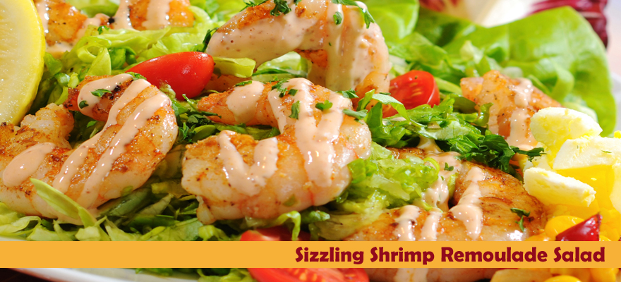 Shrimp Remolulade Salad